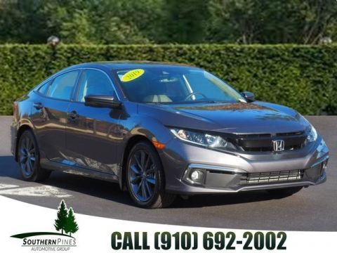 Pre-Owned 2019 Honda Civic EX-L FWD 4D Sedan