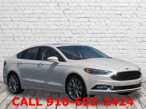 Pre-Owned 2017 Ford Fusion Platinum FWD 4D Sedan
