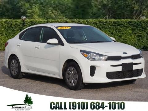 Pre-Owned 2018 Kia Rio S FWD 4D Sedan
