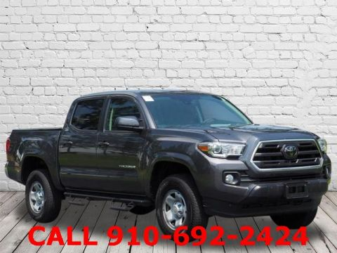 Certified Pre-Owned 2018 Toyota Tacoma SR5 RWD 4D Double Cab
