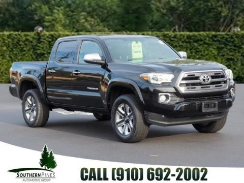 Pre-Owned 2016 Toyota Tacoma Limited RWD 4D Double Cab